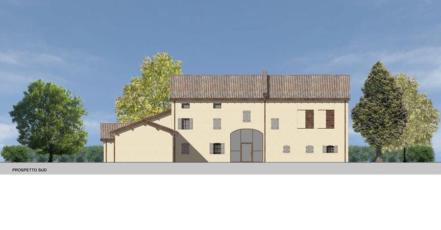 Ristrutturazione edilizia casa m l franzoni studio for Planimetrie delle case del fienile
