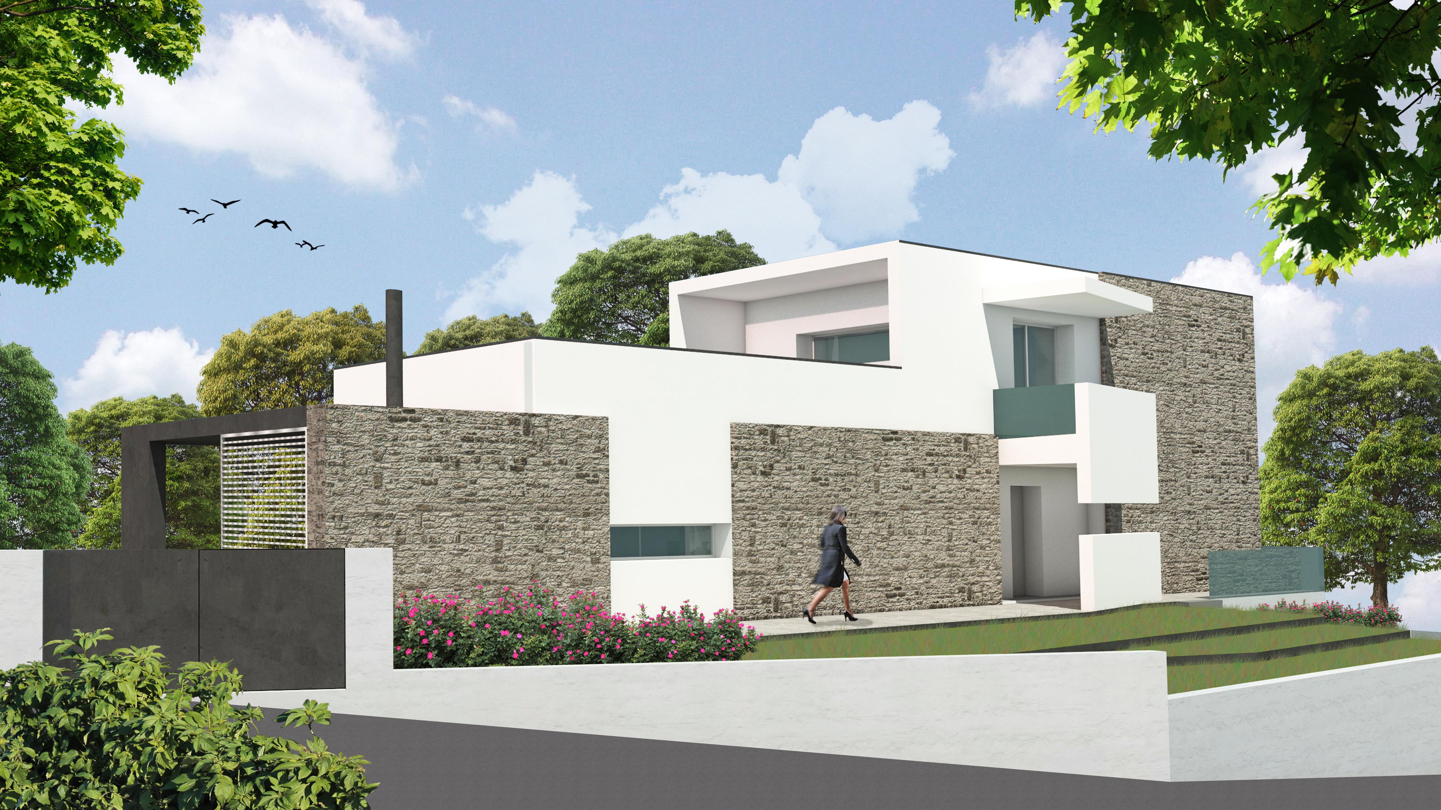 Franzoni studio architetto enrico franzoni for Progetto ville moderne nuova costruzione